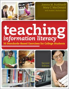 Suggested by a fellow IL teacher:  Teaching Information Literacy: 50 Standards-Based Exercises for College Students, Second Edition - Bestsellers - Books / Professional Development - Books for Academic Librarians - ALA Store