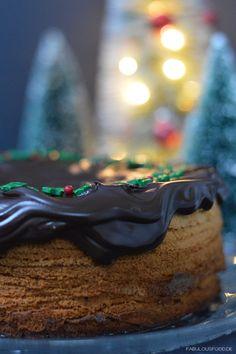 Christmas Cake weihnachtlicher Baumkuchen