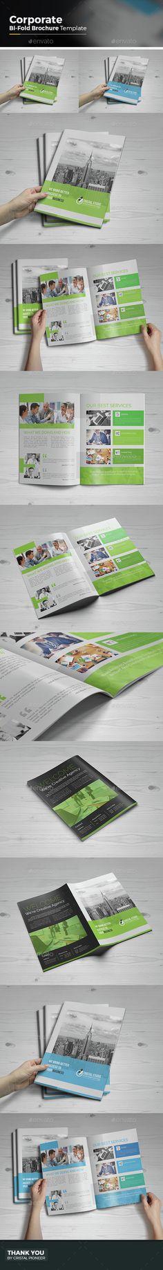 Corporate Bi-fold Brochure Template 01 Brochure template