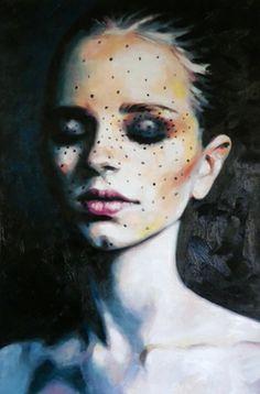 "Saatchi Online Artist thomas saliot; Painting, ""Beauty dots"" #art"