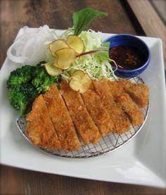 TONKATSU (Deep Fried Pork Cutret).