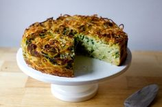 spaghetti pie with pecorino and black pepper | smittenkitchen.com