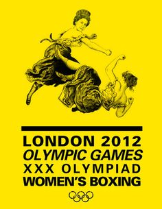 This is the first year that the Olympics will be featuring Women's Boxing, soJenelle Dagresdid a cheeky Queen boxing poster