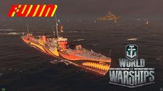 World of Warships:  Fujin