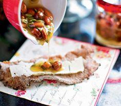 Knaprigt kalljäst knäckebröd med honungstopping | Recept.se