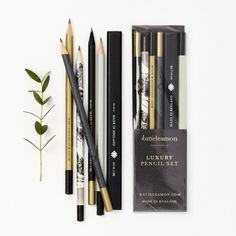 Katie Leamon Assorted Pencil Set (174.895 IDR) ❤ liked on Polyvore featuring home, home decor and office accessories