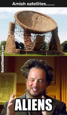 Amish satellites  #christian #christianmemes #memes