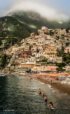 Positano, Italy.  I want to go there... A soon as posible :).  Photographer: © Bardia AziZI