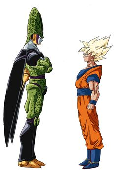 Goku Cell Color by RuokDbz98