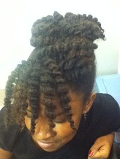 mimi's natural hair