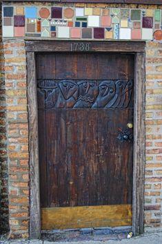 fabulous door ~ 1738 North Wells Street | Flickr - Photo Sharing!