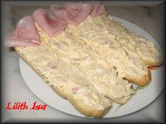 Ham, Vitamins, Food And Drink, Appetizers, Healthy Recipes, Healthy Food, Menu, Bread, Cheese