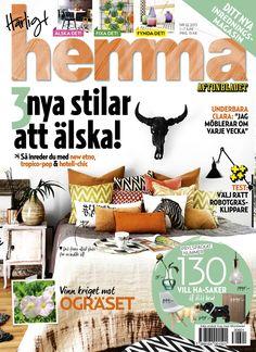 Veckans nummer av Härligt hemma! Nr 22/2013.