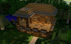 Minecraft House Blueprints 08