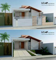 Casss566 Kerala Houses, Small Homes, Facades, Minimalism, House Plans, New Homes, House Ideas, Loft, Exterior