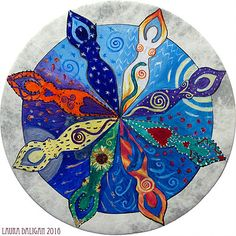 A Gallery of Hand Painted Shamanic Drum Art Wicca, Pagan, Kids Drum Set, Drum Sets, Drum Lessons For Kids, Drums Art, Rockabilly Cars, Circle Art, Triple Goddess