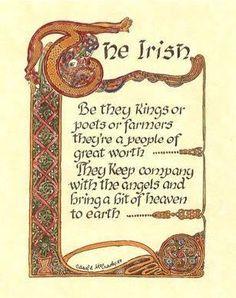 "The Irish. I'm proud to be part Irish ""Rose"". Irish Quotes, Irish Sayings, Nice Sayings, Wales, Irish Proverbs, Love Ireland, Irish Eyes Are Smiling, Irish Culture, Messages"
