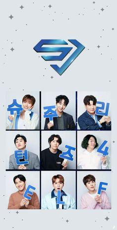 Heechul, Cho Kyuhyun, Siwon, Eunhyuk, Lee Donghae, Super Junior Leeteuk, Anime Girl Cute, Last Man Standing, Kpop