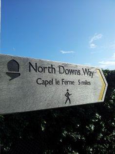 Walks And Walking Kent Walks Dover to Folkestone Walking Route The North Downs Way Capel Le Ferne  http://www.walksandwalking.com/2012/08/walks-and-walking-kent-walks-dover-to-folkestone-walking-route/