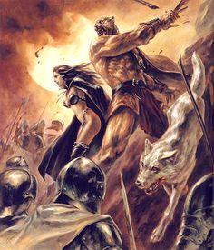guin | Reprise du célèbre roman d'heroic-fantasy, Guin Saga, au Japon