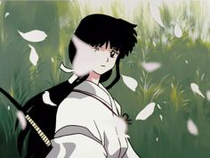 I never really loved her since she would always steel Inuyashàs feeling from kagome, like, Kagome exist to! And she deserve the love of Inuyasha, but no.. every single time kagoyasha were close, she would appear and fuck the sit up