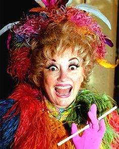 Phyllis Diller was known for her eccentric costumes, makeup and hairdos, all of which helped craft her image as America's decidedly imperfect housewife, dead at 95