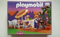 NEW SEALED Playmobil 5326 Victorian Patio Set