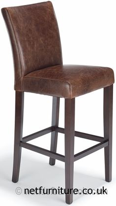 Image result for leather bar stools
