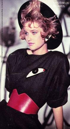 Best Fashion Look : Elle France September 1983 feat…………Michelle Eabry 80s And 90s Fashion, Retro Fashion, Vintage Fashion, Womens Fashion, Female Fashion, New Wave, Vogue, 1990 Style, Mode Costume