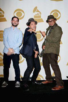 The Smeezingtons: Bruno Mars, Philip Lawrence and Ari Levine