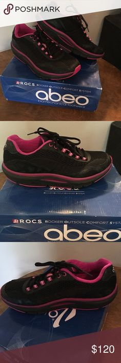 Abeo roc sneakers Very comfortable abeo ROCS. Brand new with box. Abeo Shoes Sneakers