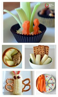 No-Prep Snacks! 5 Ideas - When the kids need a snack, this list of quick,  no-prep ideas are great to have on hand. http://www.superhealthykids.com/5-fast-no-prep-snacks/