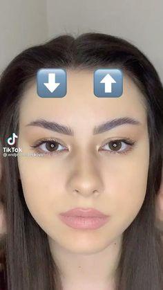 Makeup Tutorial Eyeliner, Makeup Looks Tutorial, Contour Makeup, Eyebrow Makeup, Skin Makeup, Makeup Brushes, Contouring, Edgy Makeup, Simple Makeup