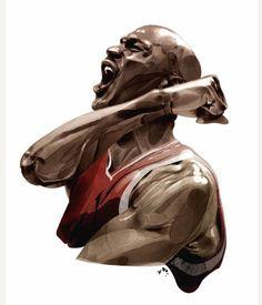 Michael Jordan - Nike Jordan Illustration