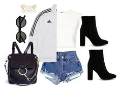 """""""Untitled #4163"""" by magsmccray ❤ liked on Polyvore featuring Puma, Public Desire, Chloé, Yves Saint Laurent and ASOS"""