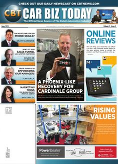 Car Biz Today Magazine released this article featuring Erich K. Gail of the Cardinale-Group of Companies discussing how the Cardinale Group overcame a low point in the economy to emerge as a top-rated digital dealer.