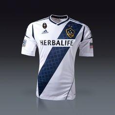 497cba127b2 adidas LA Galaxy Authentic Home Jersey 2012 Soccer Gear