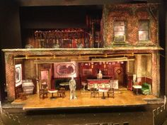 Sneak peek at the set scale model for our February 2013 production of August Wilson's TWO TRAINS RUNNING! Michael Carnahan, Scenic Designer.