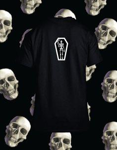 Smoking Death Tee on Black (Back)    #Skull #Bones #Black #Tshirt #Clothing #Hoodie #CoolClothing #Crewneck #ForSale #OnSale #Bones #Smoking #Death #Style #MensFashion