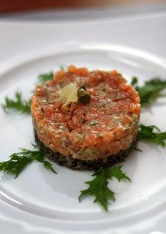 Dilled Salmon Tartar | Recipe French