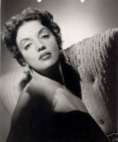 Katy Jurado (1924-2002) - Mexican actress who had a successful film career both in Mexico and in Hollywood.  Jurado made 71 films during her career.   She became the first Latin American actress nominated for an Academy Award, as Best Supporting Actress for her work in 1954's Broken Lance, and was the first to win a Golden Globe Award.