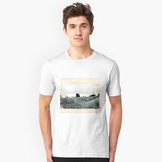 """Avebury - The Field"" Unisex T-Shirt by OrionRose   Redbubble   #art #collage #mixedmedia #blackandwhite #black #and #white #beige #aesthetic #artist #artwork #arte #england #avebury #photography #pale #adventure #travel #peach #boho #indie #hipster #explore #vintage #fashion #mensfashion #menswear #men #models"