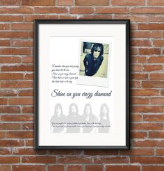 Shine On You Crazy Diamond by Pink Floyd by PrintableSongParts
