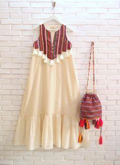 Boho Summer Dresses, Gypsy Dresses, Boho Dress, Cotton Summer Dresses, Chic Dress, Maxi Dresses, Stylish Dress Designs, Designs For Dresses, Stylish Dresses For Girls