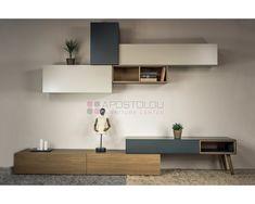 Living Room Wall Units, Living Room Tv Unit Designs, Living Room Cabinets, Living Room Decor, Tv Unit Decor, Tv Wall Decor, White Home Decor, Home Furniture, Interior Design