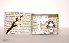 Matchbox Art Diorama di MalenaValcarcel su Etsy