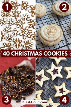 Make your house smell divine with these festive and tasty Christmas cookies recipes. Enjoy them yourself or use them for a cute Christmas edible gift. Christmas Donuts, Christmas Food Gifts, Best Christmas Cookies, Christmas Chocolate, Christmas Sweets, Christmas Cooking, Christmas Goodies, Holiday Cookies, Christmas Candy