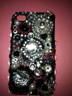 Blinged out case for I Phone 4s