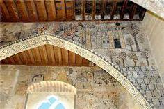 #Alcañiz (Spain) #Pinturas #Medievales en el Castillo Calatravo