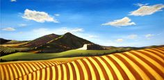 Acrylic on canvas - loess soil - suzanne lee chetwood